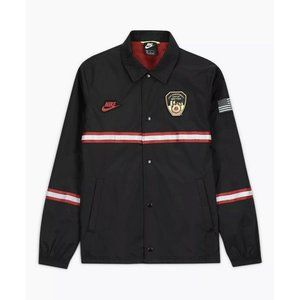 Nike FDNY New York Fire Department Coaches Jacket